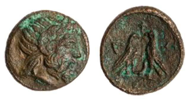 Άμμων Ζευς-2 Αετοί(Χαλκός 187-179 π.Χ.)