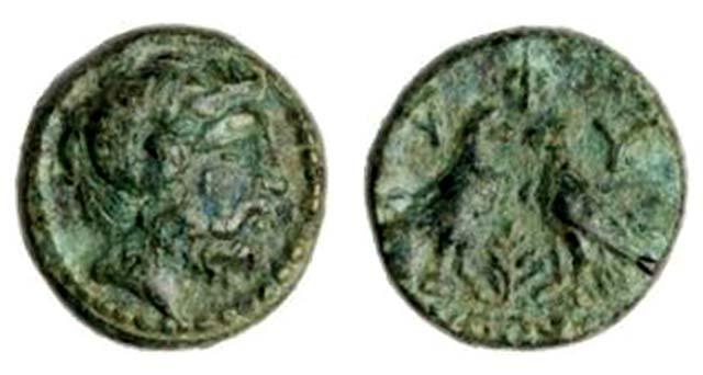 Άμμων Ζευς-2 Αετοί Πεύκο(Χαλκός 450-400 π.Χ.)